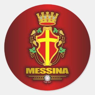 Messina Classic Round Sticker