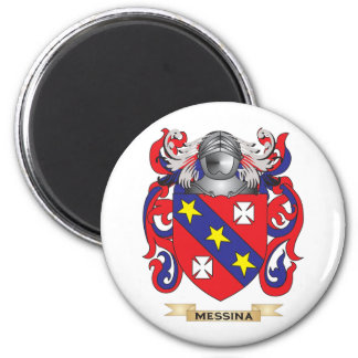 Messina Coat of Arms (Family Crest) Refrigerator Magnets