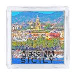 Messina Silver Finish Lapel Pin