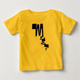 messy baby meep t-shirt