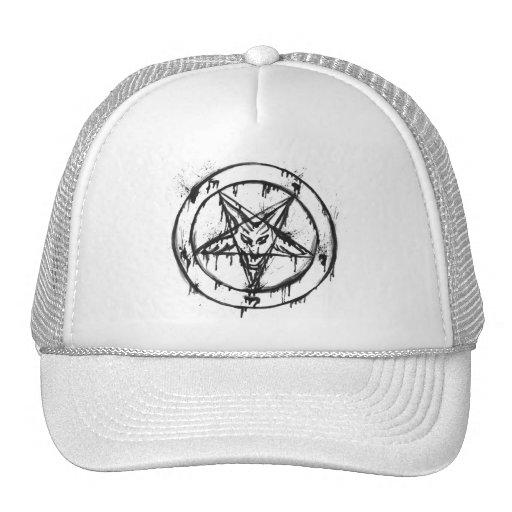 Messy Baphomet Trucker Hat