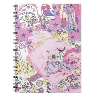 'Messy Bedroom' Notebook