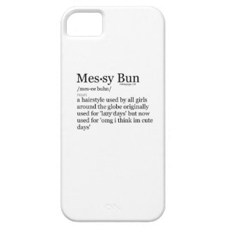 Messy Bun phone case