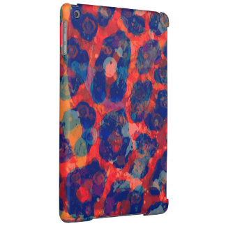 Messy Cheetah Abstract iPad Air Case