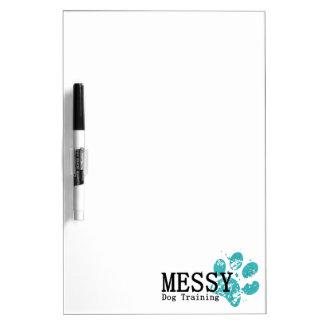 MESSY Dog Training Dry-Erase Board