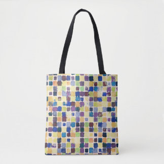 Messy Geometric Tiles Tote Bag