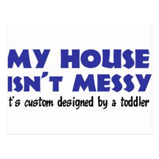 Messy House Postcard