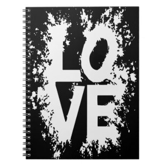 Messy Love Spiral Notebook