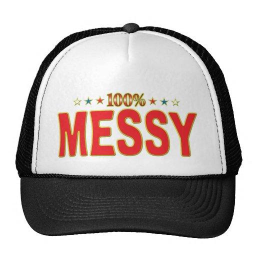 Messy Star Tag Trucker Hats
