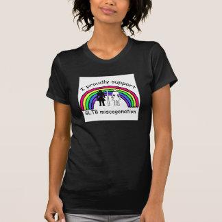 Mestizaje de la ayuda GLTB Camiseta
