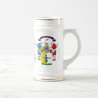 Meszaros, the Origin, the Meaning and the Crest Beer Stein