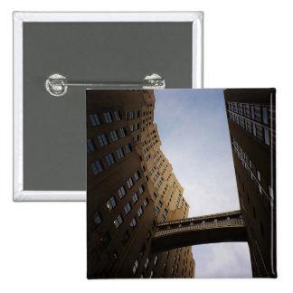 Met Life Tower Bridge, New York City Pinback Buttons