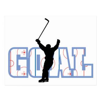 Meta - cuenta del hockey sobre hielo - regalos de postal