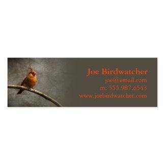 Meta de Birdwatcher Tarjetas De Visita Mini