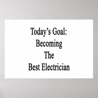 Meta de hoy que hace el mejor electricista póster
