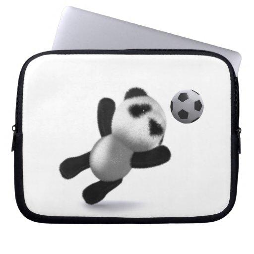 ¡meta de la panda del bebé 3d! mangas computadora
