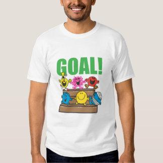 Meta de los aficionados al fútbol el | de Sr. Men Camisas