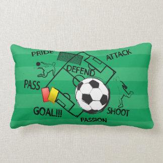 Meta del ataque del fútbol del fútbol almohada