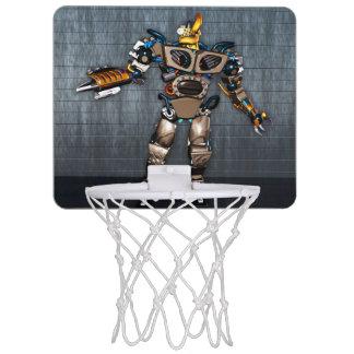 Meta del baloncesto de la diversión del robot mini canastas mini