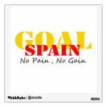 Meta del fútbol de España ningún dolor ningún aume
