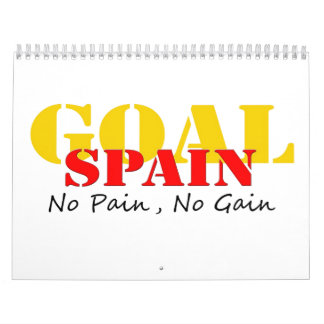 Meta del fútbol de España ningún dolor ningún Calendario