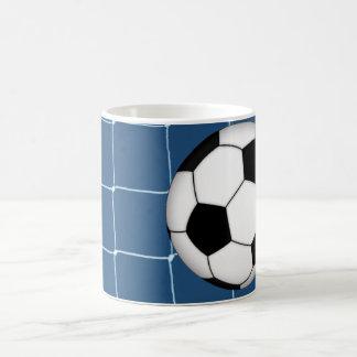 Meta del fútbol del fútbol taza