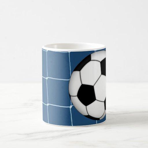 Meta del fútbol del fútbol taza clásica