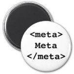 Meta Fridge Magnets