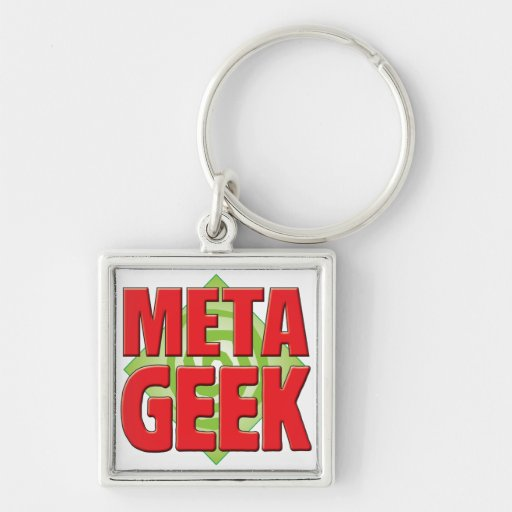 Meta Geek v2 Keychains