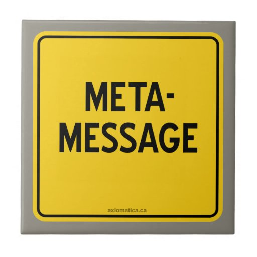 META-MESSAGE AZULEJO