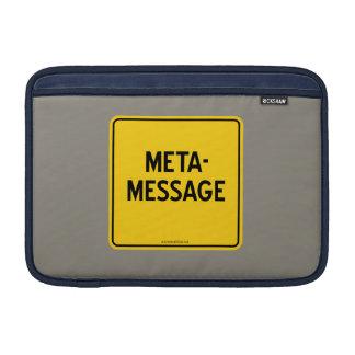 META-MESSAGE MacBook AIR SLEEVE