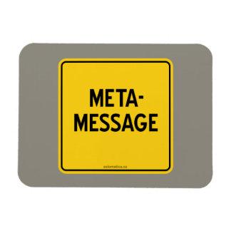 META-MESSAGE MAGNET