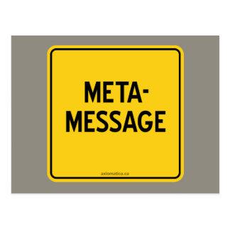 META-MESSAGE TARJETAS POSTALES