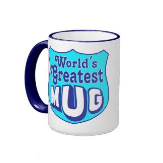 Meta Mug in Blue