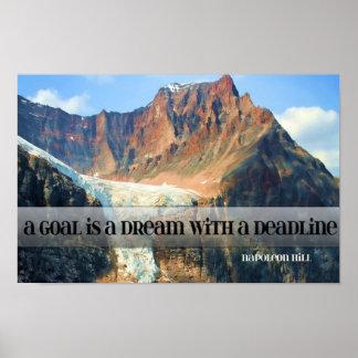 Meta - un sueño con un plazo póster