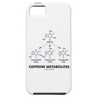 Metabilitos del cafeína (química de la molécula funda para iPhone 5 tough