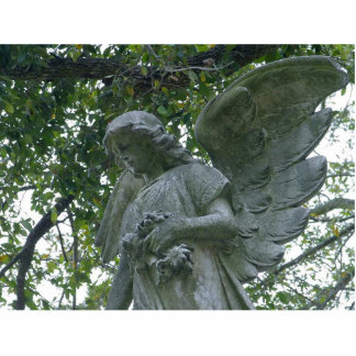 Metairie Angels Statues Photo Cut Outs