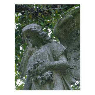 Metairie Angels Statues Postcard
