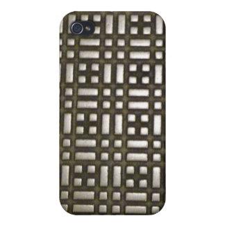 Metal - 1 comunicación de Digitaces iPhone 4 Funda