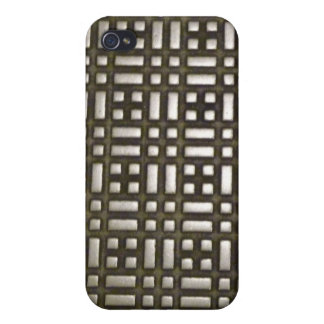 Metal - 1 Digital Communication iPhone 4 Case