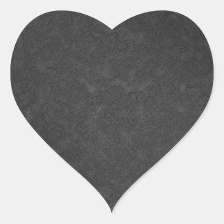 Metal 1 heart sticker