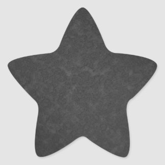 Metal 1 star sticker