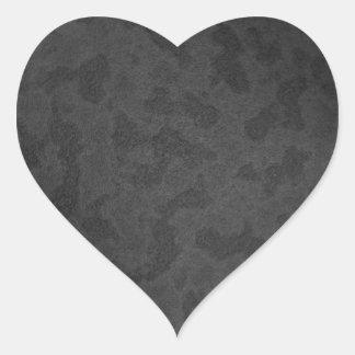 Metal 2 heart sticker