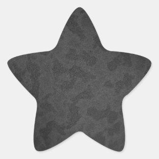 Metal 2 star sticker