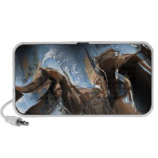 Metal 4Doodle dañado amor iPod Altavoces