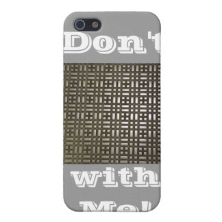 Metal - 7 iPhone 5 and 5s, Don't Metal with Me! 3D iPhone SE/5/5s Case
