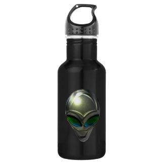 Metal Alien Head 02 Liberty Bottle