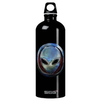 Metal Alien Head 03 Liberty Bottle