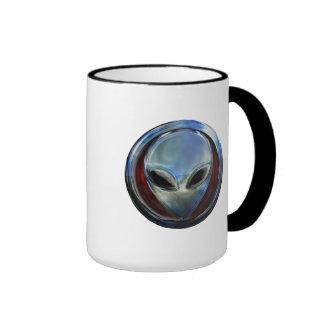 Metal Alien Head 03 Mug