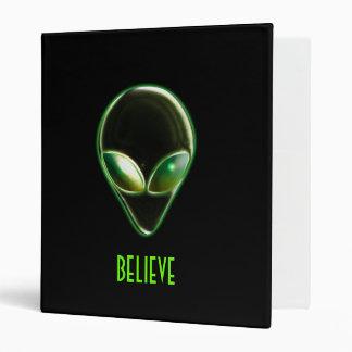 Metal Alien Head 04 Binder